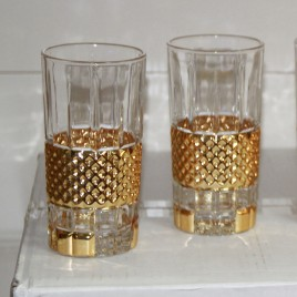 Crystal Drinking Highball Glasses B5
