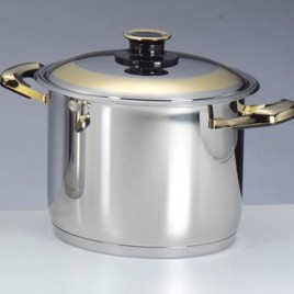 24cm High Pot and  Cover
